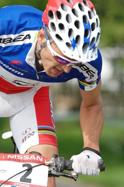 ATOC08-5: Last out of the start house, Leipheimer quickly set a blistering pace