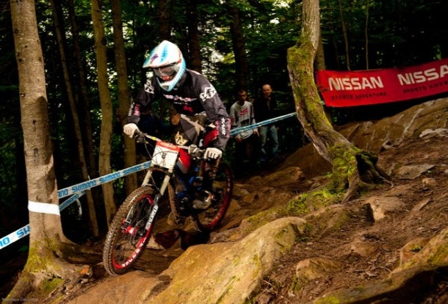 Neko Mulally tears up a course. Mulally is open to sign with a new team for 2010. Photo by MatthewDeLorme