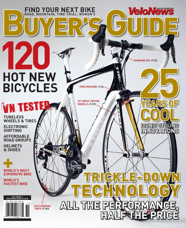 velonews 2010 buyer s guide velonews com rh velonews com VeloNews Tour De France Velo Cross Country