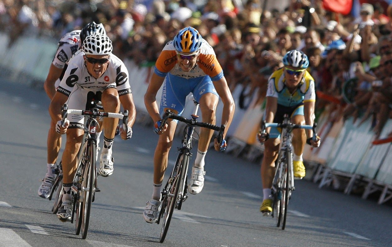Gerrans won the 10th stage of the Vuelta this year.