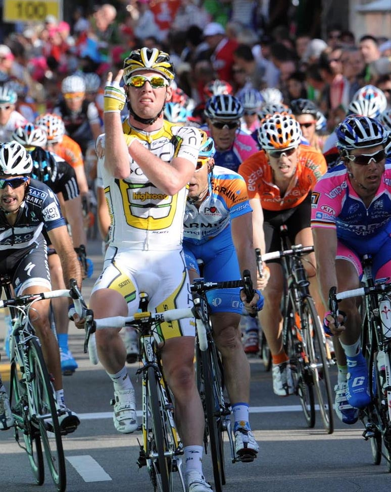 Cavendish: 'I apologize to everybody watching the race and especially the kids.'