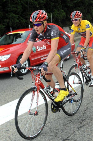 Horner on duty as domestique.