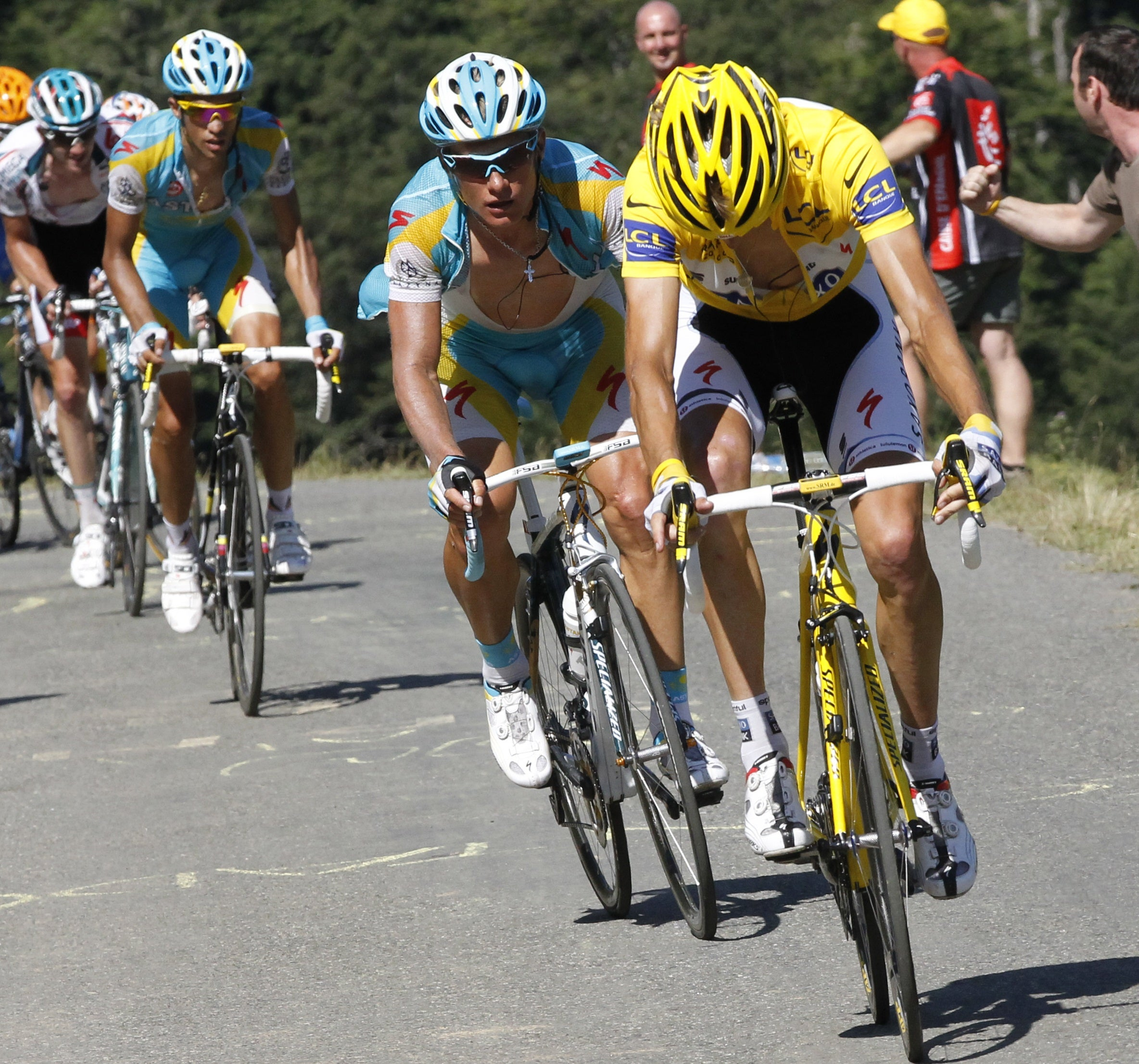 Schleck Brothers Want Contador At Tour De France So They Can Beat Him Velonews Com