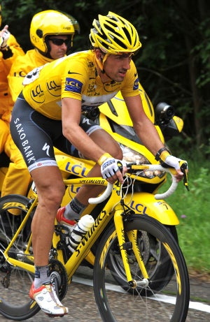 2010 Tour de France stage 2 Fabian Cancellara