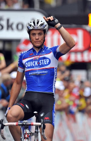 2010 Tour de France stage 2 Sylvain Chavanel wins