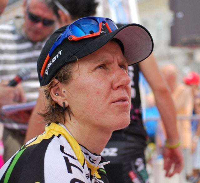 Ina-Yoko Teutenberg after stage 2