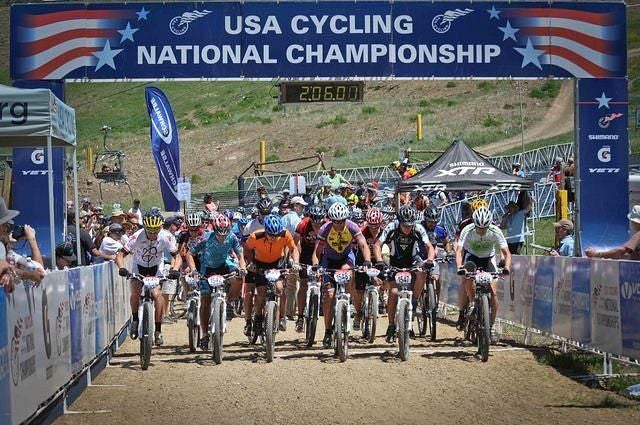 2010 National Mountain Bike Championships start