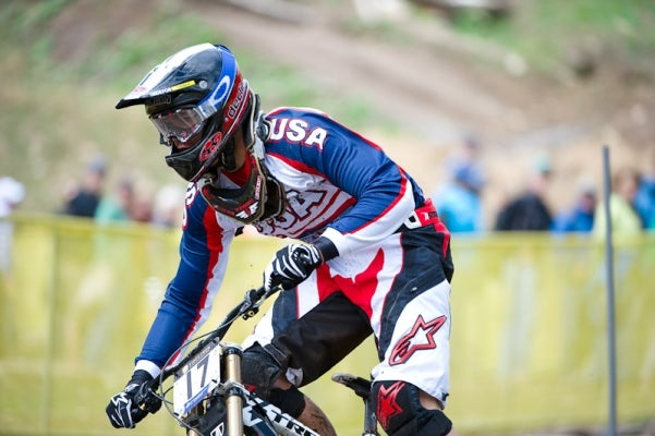 American junior rider Neko Mulally just missed gold.