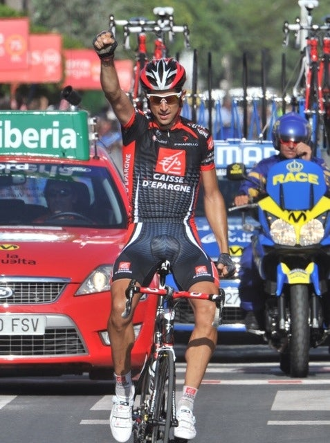 2010 Vuelta a Espana, stage 10: Imanol Erviti gets the win.