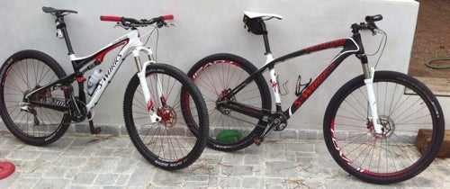 A couple of Bostrom's Specialized rigs.
