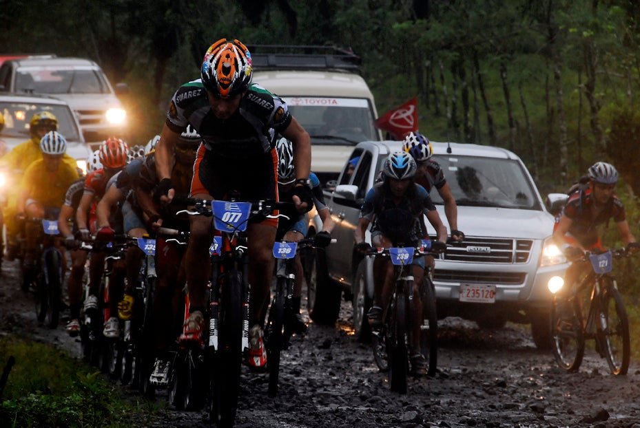 La Ruta is known for its drastic conditions: From mud and rain to elevation and cold, the race is a challenge. Courtesy photo