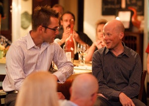Chris Horner World Bicycle Relief dinner