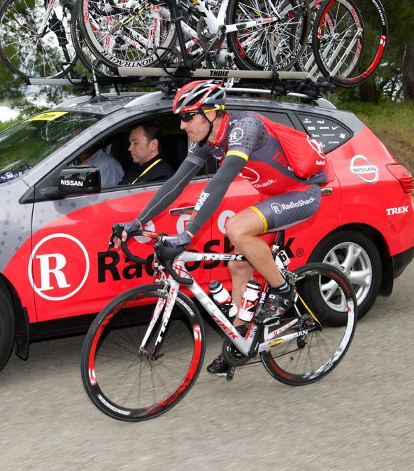Popovych followed Armstrong and Bruyneel to RadioShack in 2010