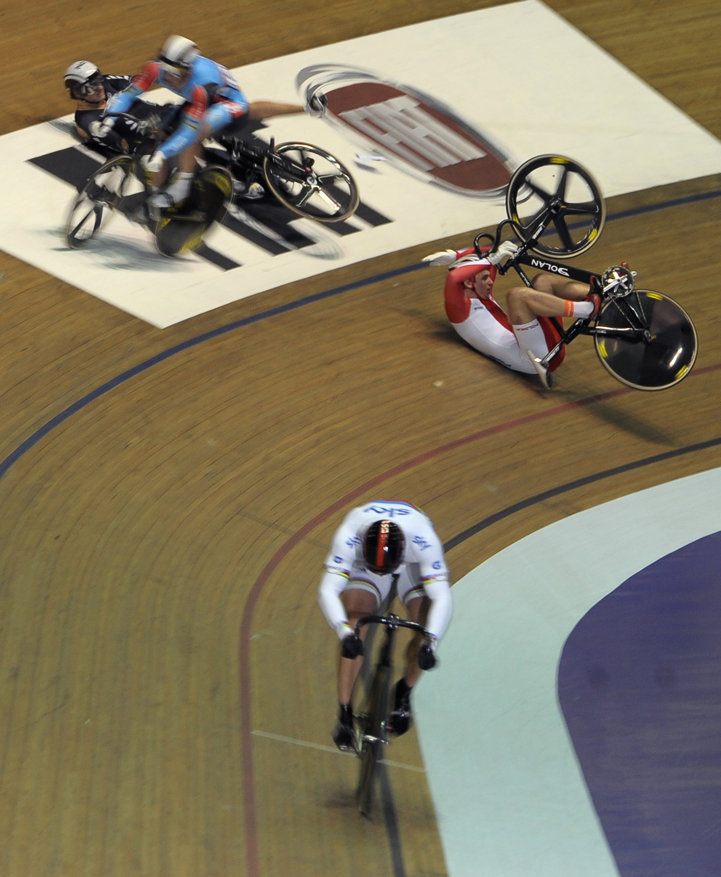 2011 World Cup Track, Manchester, Chris Hoy