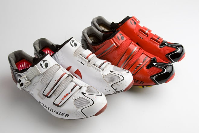 Sea Otter Classic 2011 - Bontrager RXXXL Road Shoe - YouTube