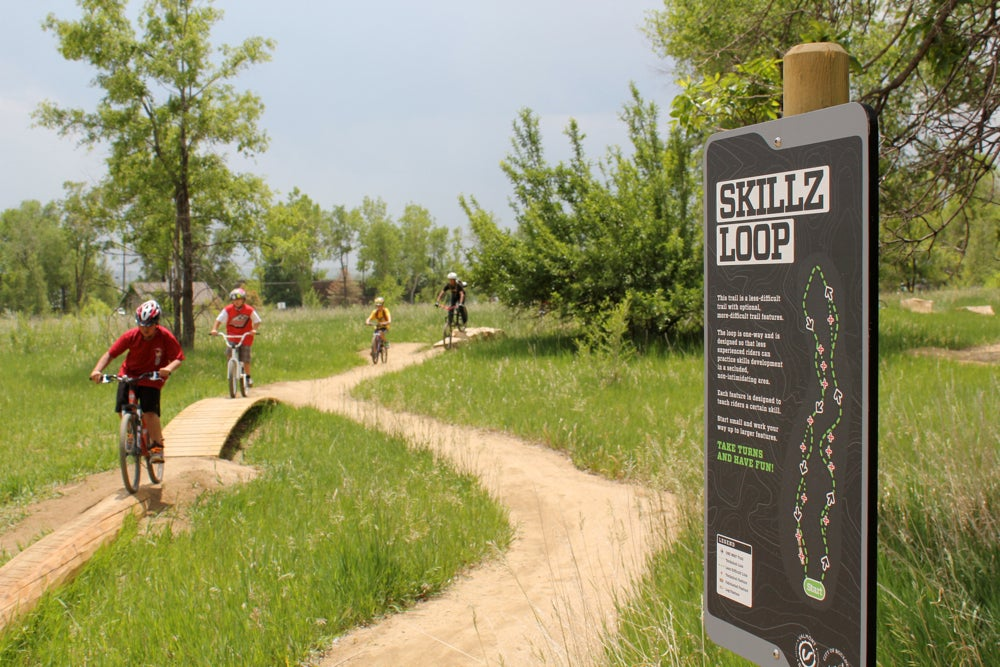 Valmont Bike Park opening 2011: Choose your adventure