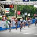 Theresa Cliff-Ryan wins Chris Thater; Irene forces cancellation of men's race