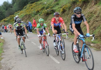 2011 Vuelta a España, stage 15, Froome and Wiggins