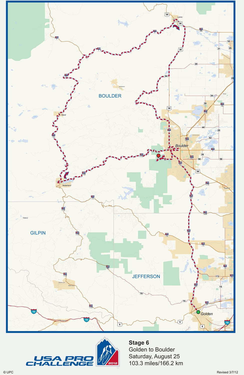Us Pro Cycling Challenge 2012 Route Map USA Pro Challenge organizers leave suspense to the last day with