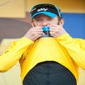 On the threshold of a dream: Bradley Wiggins has chased the Tour since age 12