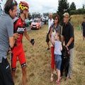 Stray dog leaves injured Philippe Gilbert worried about Olympic hopes