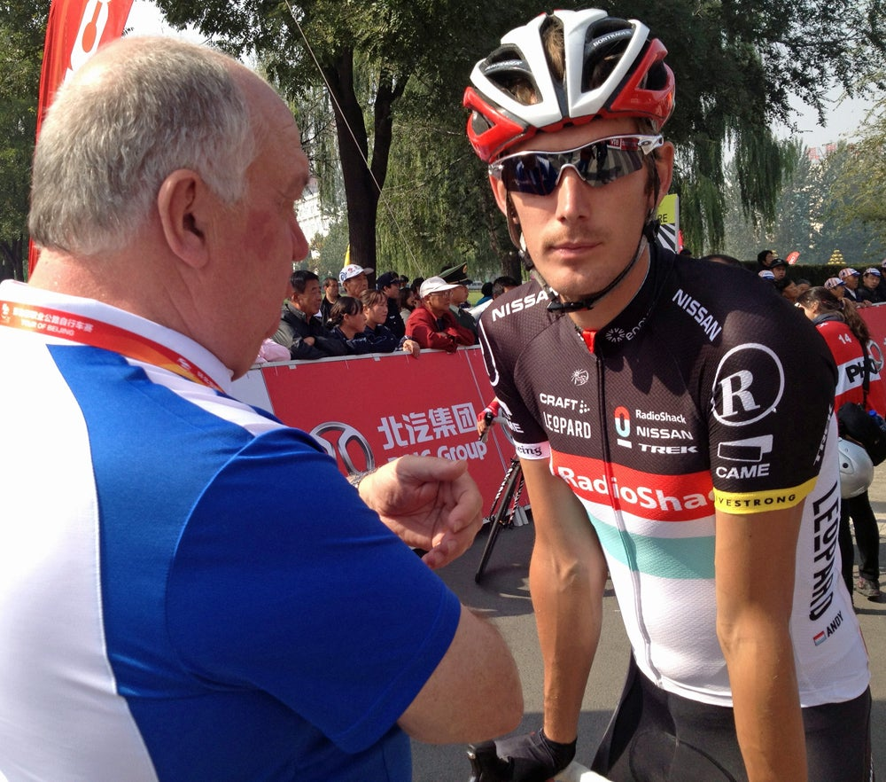 Andy Schleck working to put injury behind him, prepare for ...