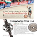 Velo Blessed Product Launch of the Year: Specialized Roubaix; Tech Innovation of the Year: SRAM XX1