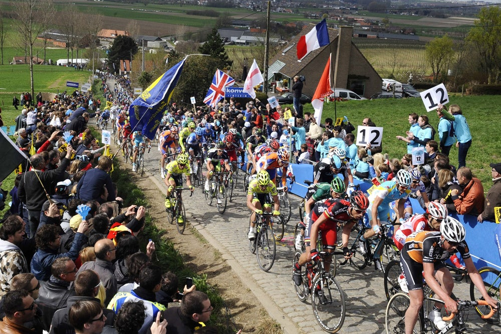 At the Tour of Flanders, it's all about position