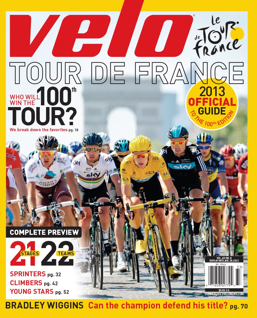 Velo Magazine — Official 2013 Tour de France Guide ...