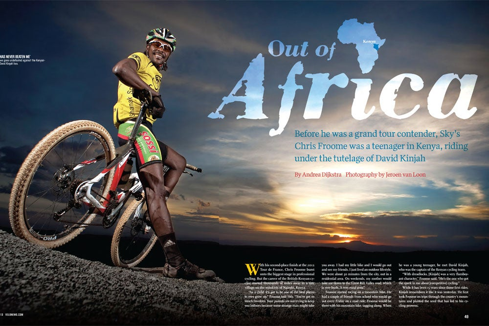 Out of Africa: Chris Froome's former mentor talks about his rise