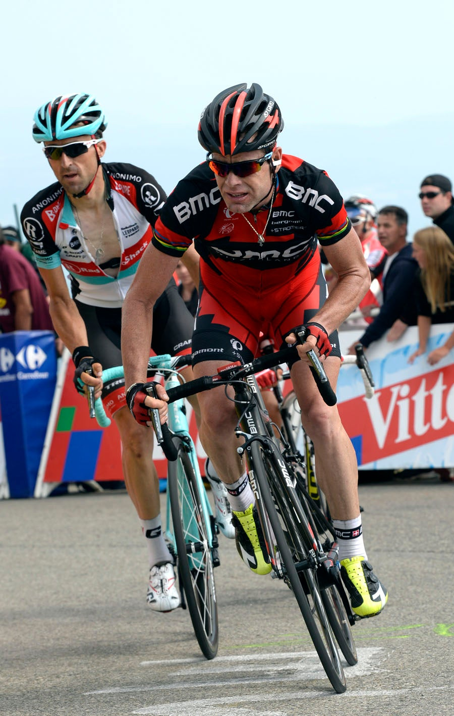 I just want to finish the Tour, says struggling Evans