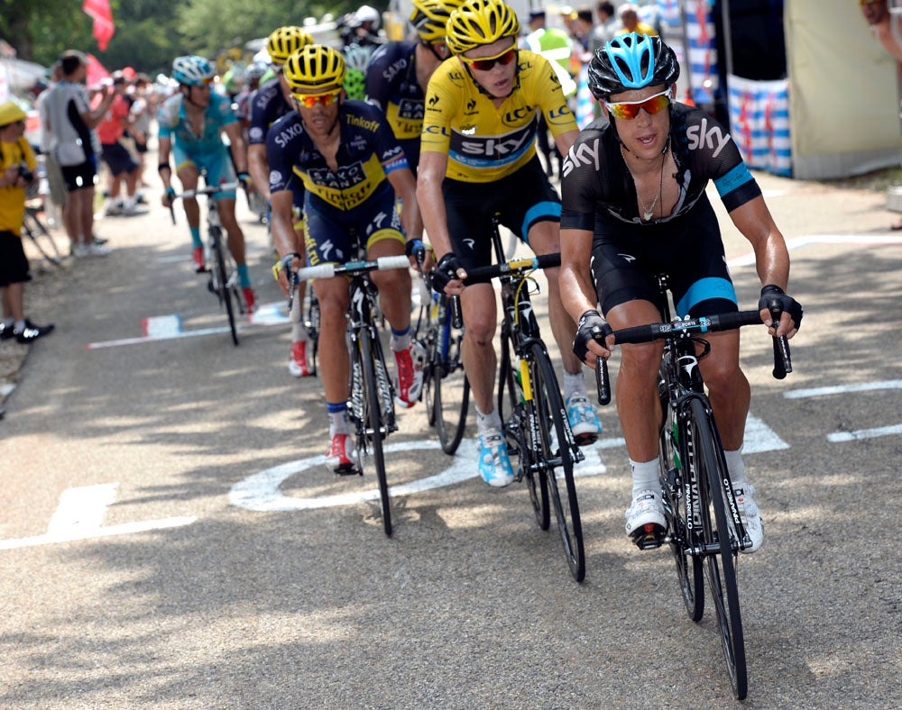 USA Pro Challenge is a training race for Chris Froome, Richie Porte