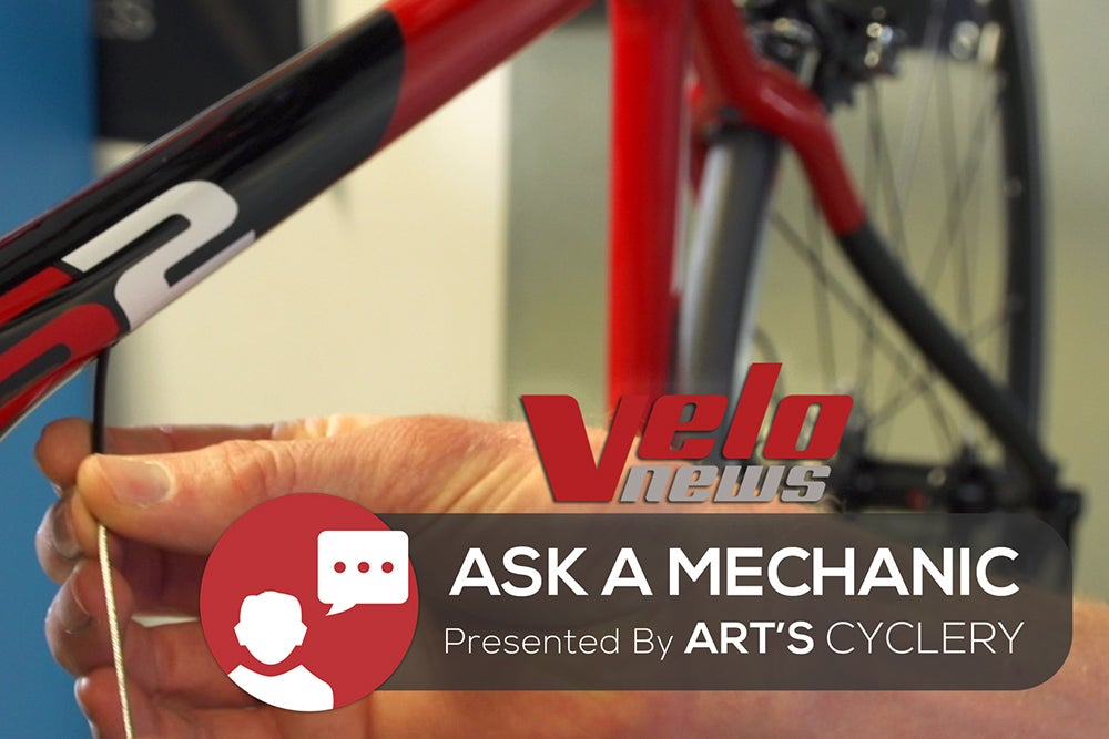 Ask a Mechanic: Installing internal cables
