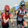 Busche leads troupe of climbers staying with Trek for 2014