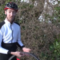 How to get home on a split tire sidewall