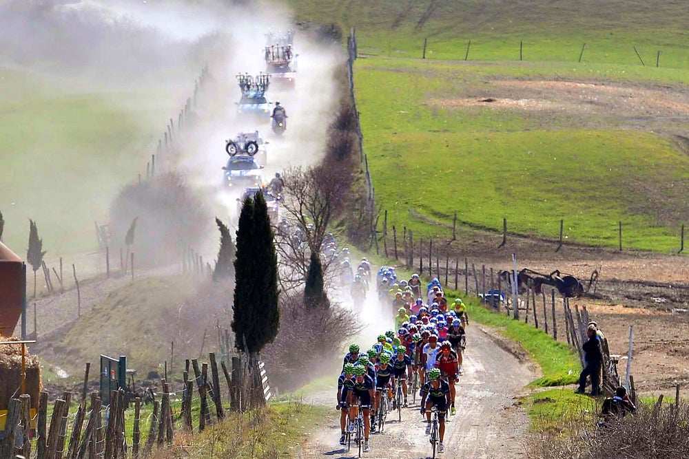 Analysis Strade Bianche Roma Maxima Deliver What Cycling