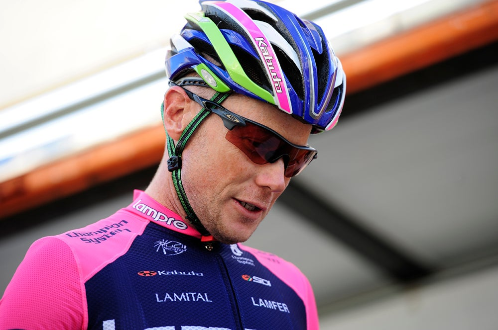 Lampre reveals more details of Horner accident, Tour comeback possible