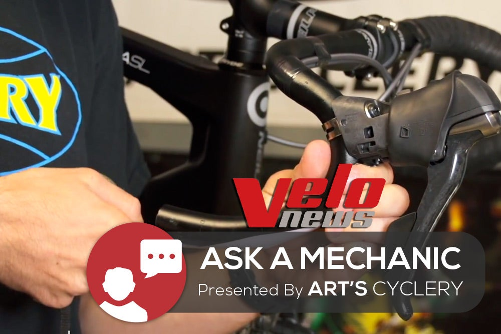 Ask a Mechanic: How do I align brake levers on a road bike?