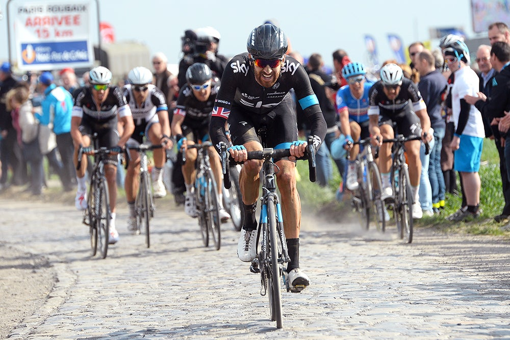 Wiggins says riding into the Roubaix final was a 'real honor'