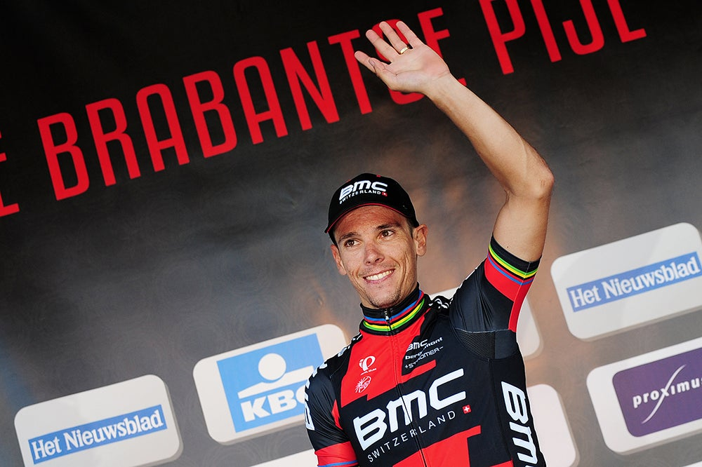 Coming off a win, Philippe Gilbert carries confidence, caution into Amstel Gold