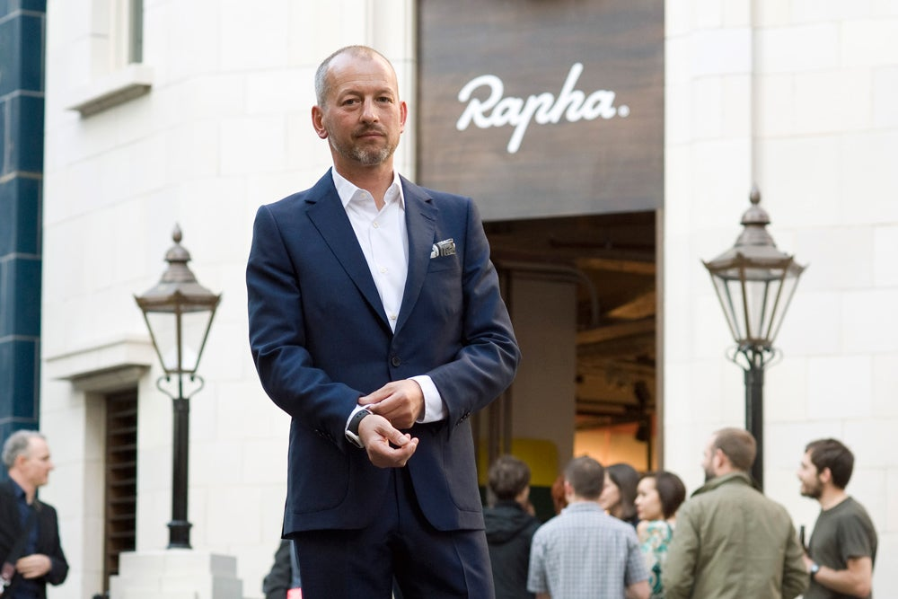 Excess, agony, and Pantani: An interview with Rapha's founder