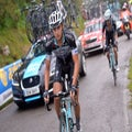 Rovny, Brambilla come to blows at Vuelta a Espana