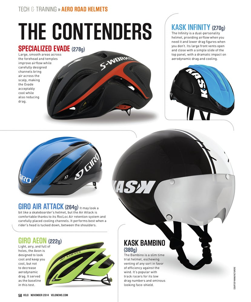 Is an aero road helmet right for you? The Velo tech crew figures out if those funny-looking lids are actually faster.