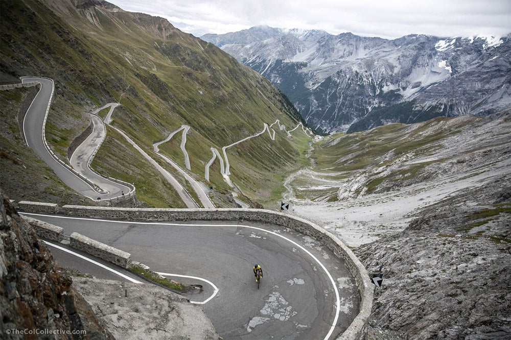 Climb the Stelvio with the Col Collective
