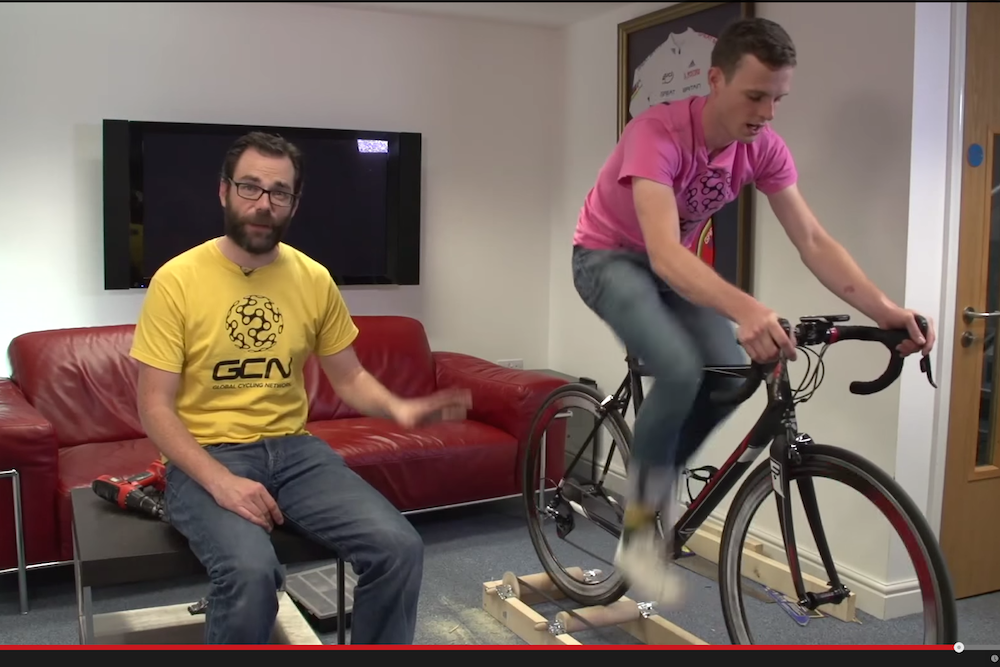 How to make your own rollers for indoor riding