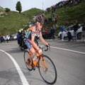 Cunego out of Giro after fractured collarbone