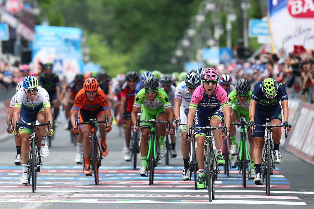 Results: 2015 Giro d'Italia, stage 7