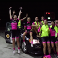 Veloroos win RAAM in women's four-person team category