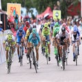 Langkawi stage 7: Guardini's hat-trick