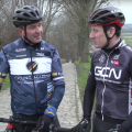GCN rides with Johan Museeuw